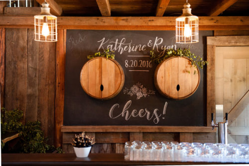 Jennifer Alyse Weddings // Tin Roof Barn