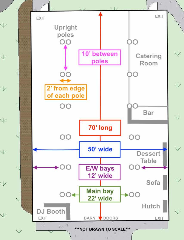 Barn dimensions CAD