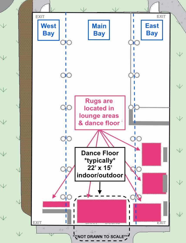 Barn rugs CAD