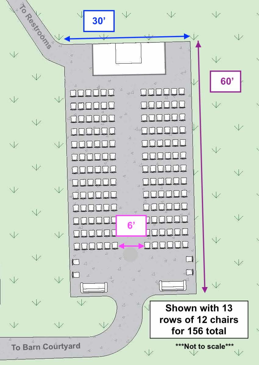 Ceremony CAD Dimensions